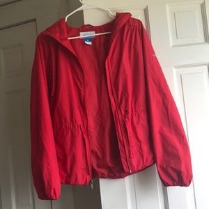 Columbia Red Jacket